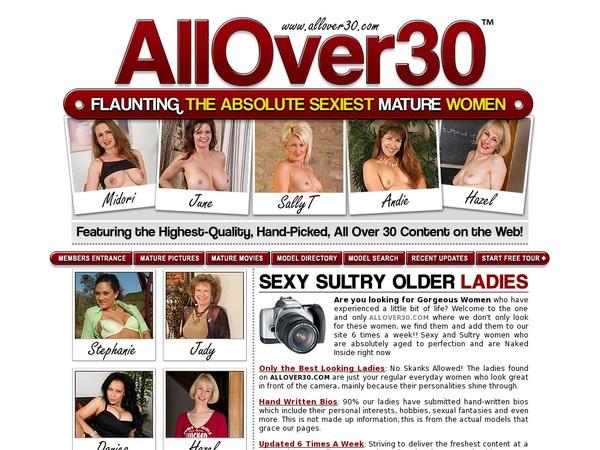 Allover30.com Free Members
