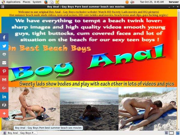 Boy-anal.bestbeachboys.com Account Generator