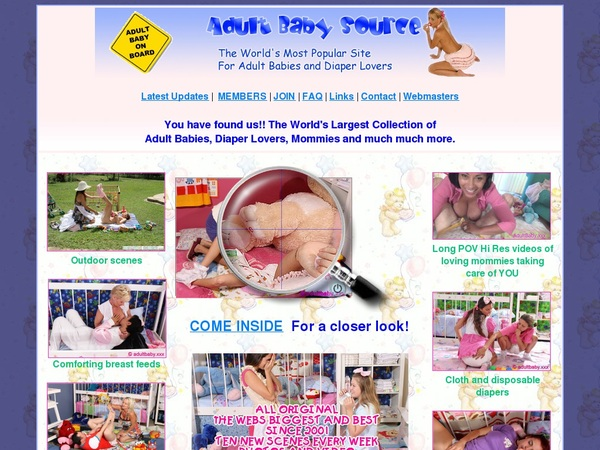Free Adultbabysource.com Codes