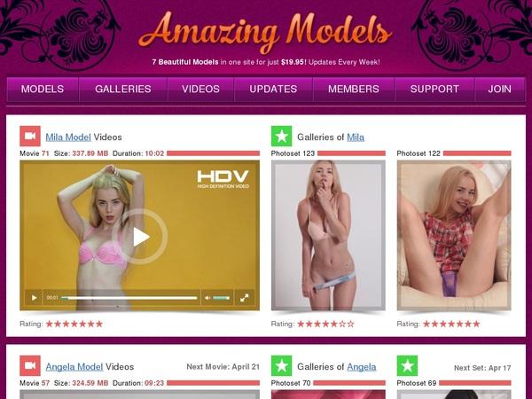 Free Amazing Models