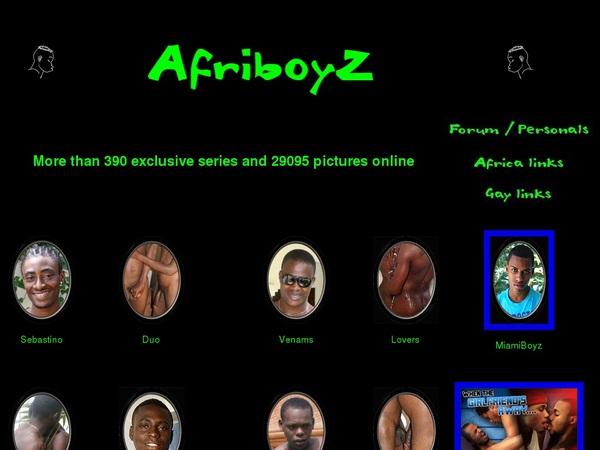 Free Password Afriboyz.com