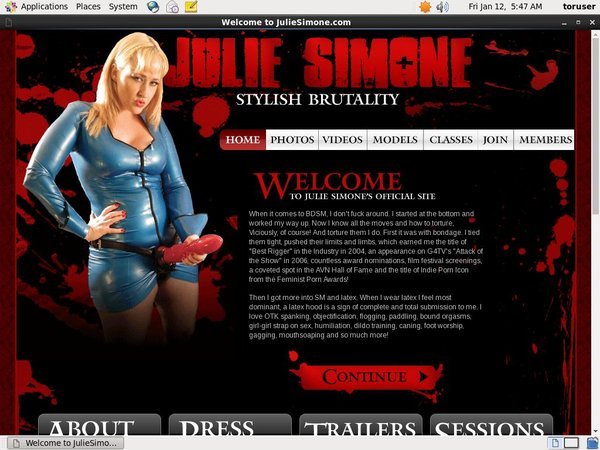 Juliesimone Free User