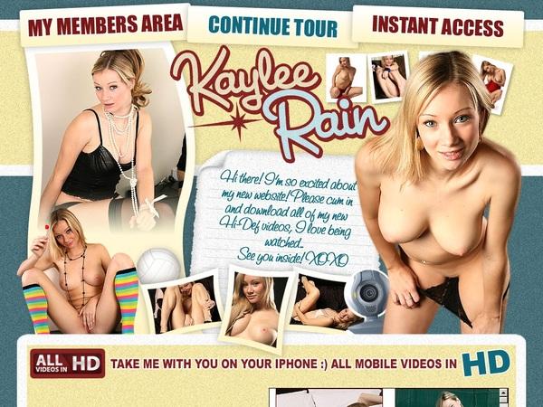 Kaylee Rain User And Password