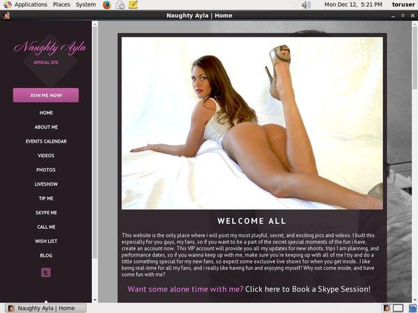 Naughty Ayla Receive Discount