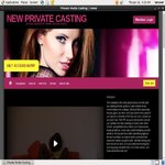 New Private Casting Gratis Password