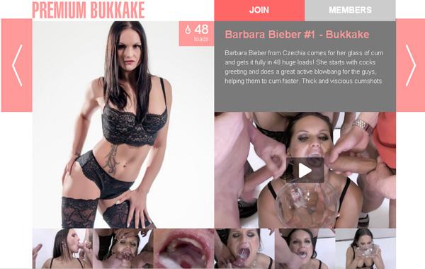 Premium Bukkake Mobile Websites