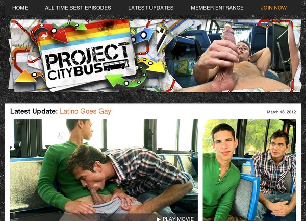 Project City Bus Pay Site
