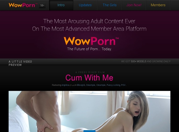 Wowporn Join With Phone