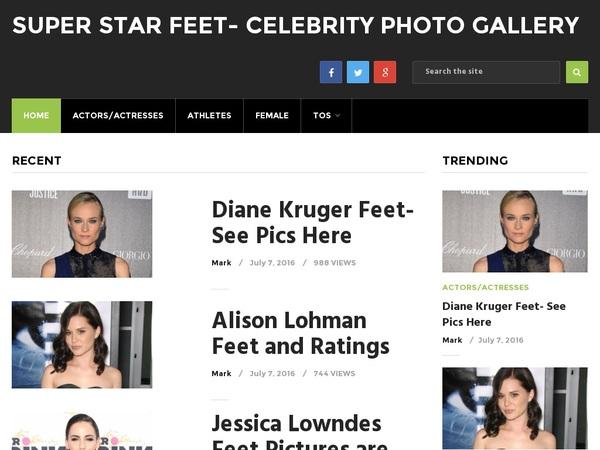 Become Super Star Feet Member