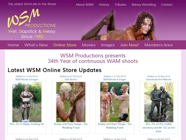 Free Wsmproductions.co.uk Logins