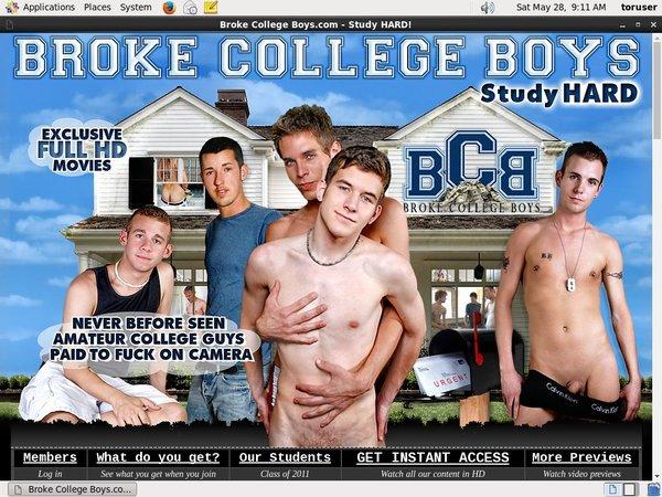 Brokecollegeboys.com Login And Password