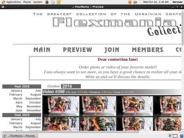 Collection Flex Mania Membership Discount