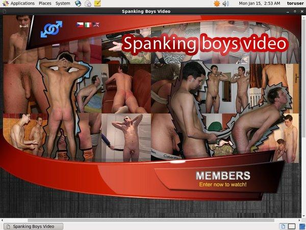 Spanking Boys Video Porn Discounts