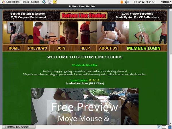 Bottom Line Studios Pay Site