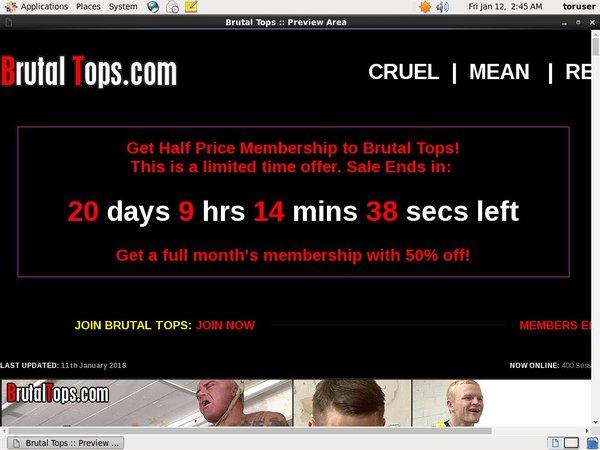 Brutaltops.com Deal