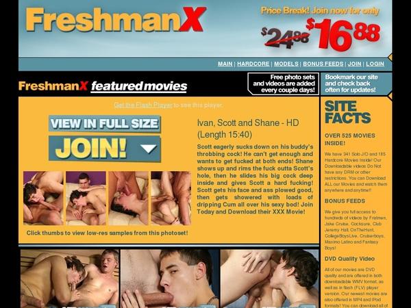 Account Freshmanx.com Free