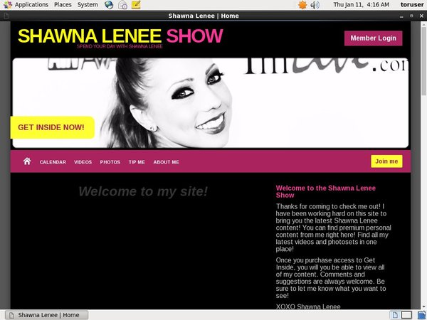 Get Shawna Lenee Show Discount Link