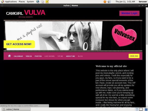 Vulvasex Limited Rate